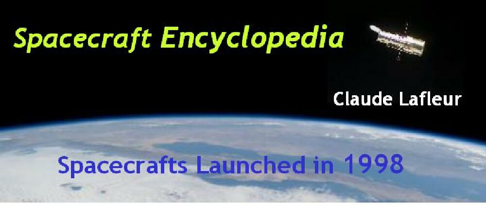 Spacecrafts Launched In 1998
