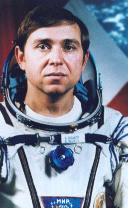 космонавт волков фото из космоса